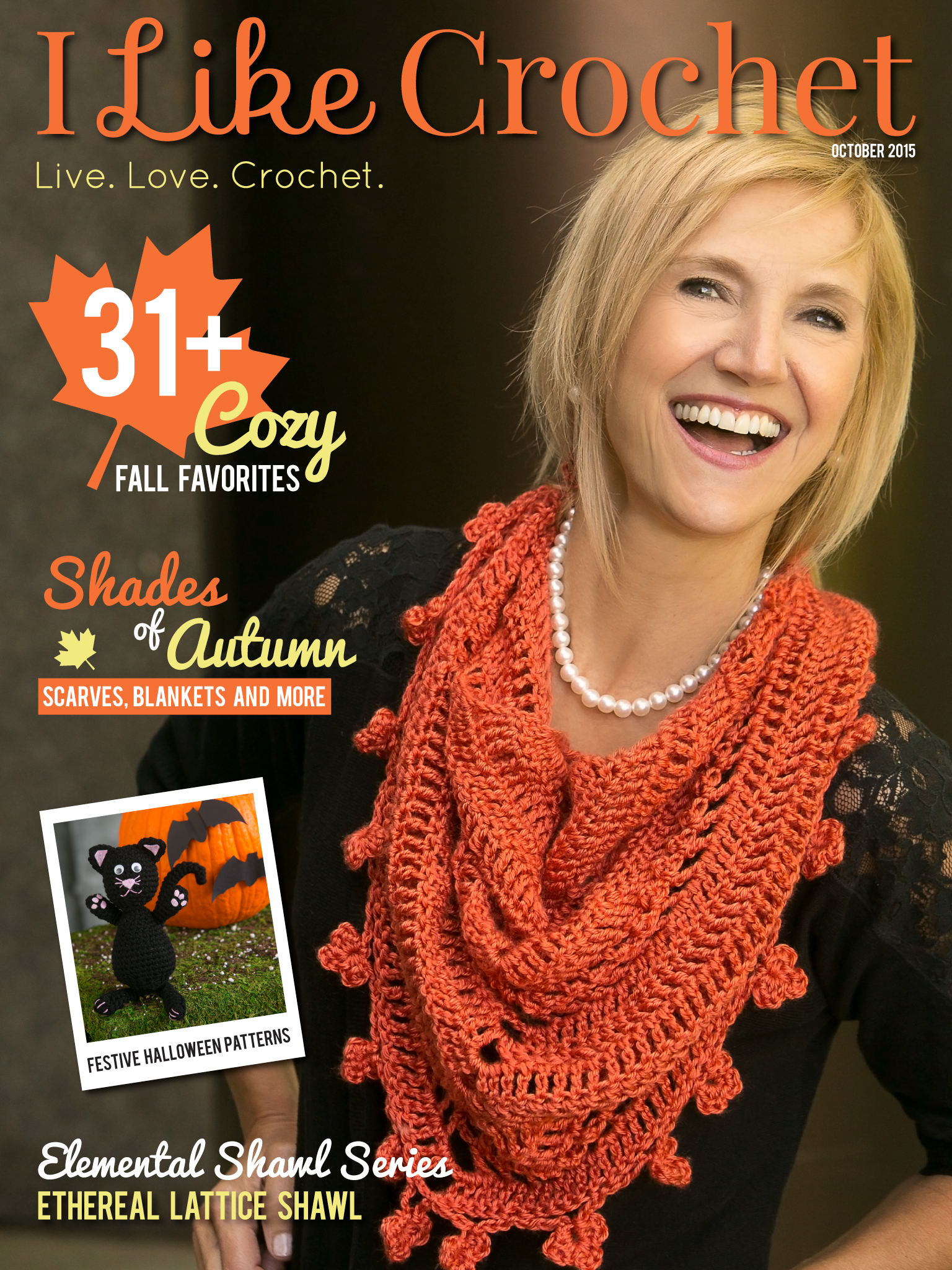 Like Crochet Magazine - October Issue - The Stitchin Mommy